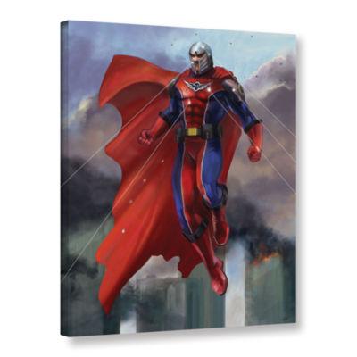 Brushstone Hero Gallery Wrapped Canvas Wall Art