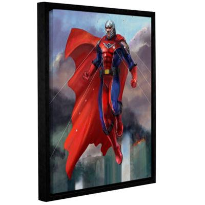 Brushstone Hero Gallery Wrapped Floater-Framed Canvas Wall Art