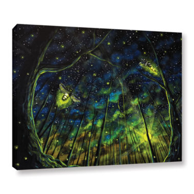 Brushstone Light Up The Night Gallery Wrapped Canvas Wall Art