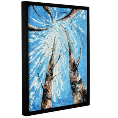 Brushstone Love That Preserves Gallery Wrapped Floater-Framed Canvas Wall Art