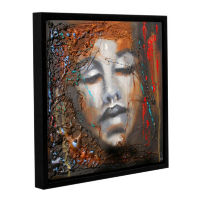 Brushstone No More Sorrow Gallery Wrapped Floater-Framed Canvas Wall Art