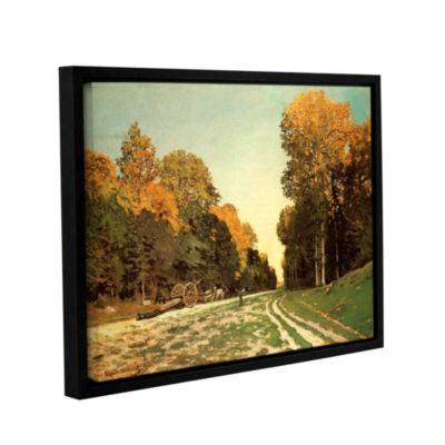 Brushstone Lumber Wagon Gallery Wrapped Floater-Framed Canvas Wall Art