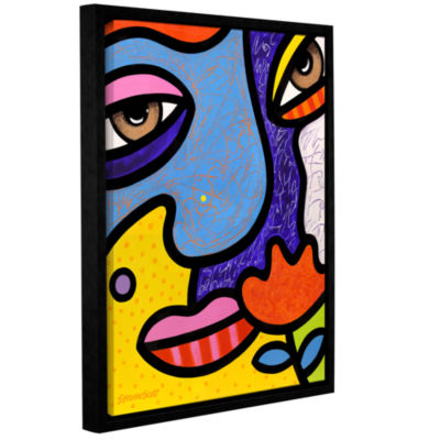 Brushstone Max Gallery Wrapped Floater-Framed Canvas Wall Art