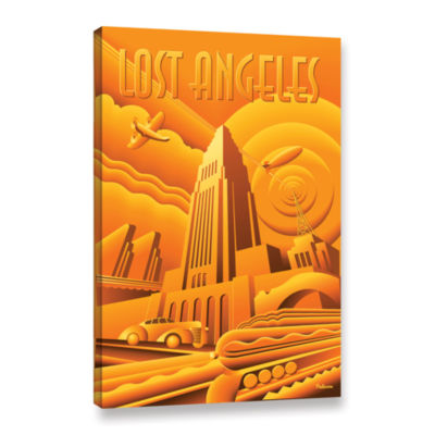 Brushstone Lost Angeles Gallery Wrapped Canvas Wall Art