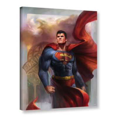 Brushstone Man Of Steel Gallery Wrapped Canvas Wall Art
