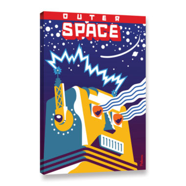 Brushstone Outer Space Gallery Wrapped Canvas WallArt
