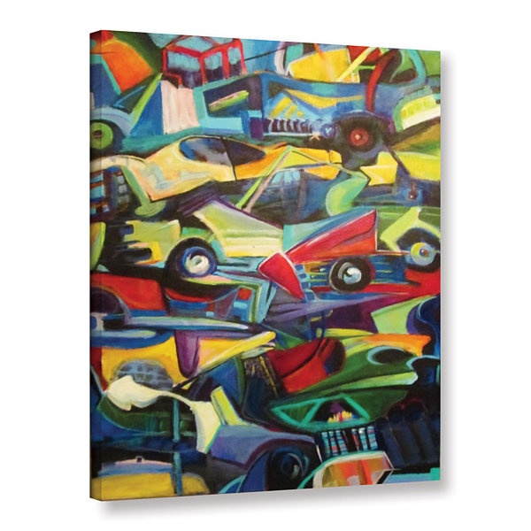 Brushstone Pile Up Gallery Wrapped Canvas Wall Art