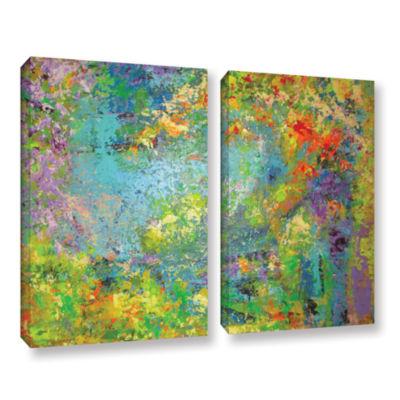 Brushstone Remembering July 2-pc. Gallery WrappedCanvas Wall Art