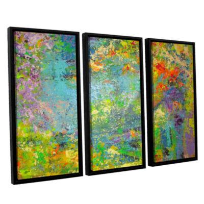 Brushstone Remembering July 3-pc. Floater Framed Canvas Wall Art