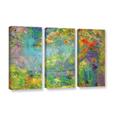 Brushstone Remembering July 3-pc. Gallery WrappedCanvas Wall Art