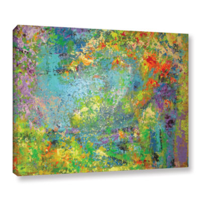 Brushstone Remembering July Gallery Wrapped CanvasWall Art
