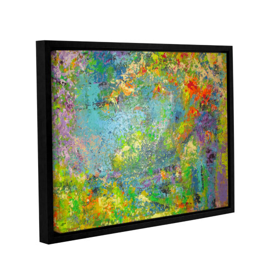 Brushstone Remembering July Gallery Wrapped Floater-Framed Canvas Wall Art