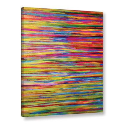 Brushstone Reflections Gallery Wrapped Canvas WallArt