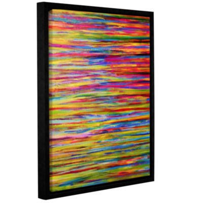 Brushstone Reflections Gallery Wrapped Floater-Framed Canvas Wall Art