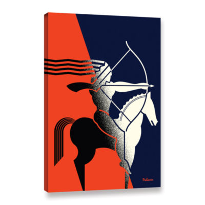 Brushstone Rider Gallery Wrapped Canvas Wall Art