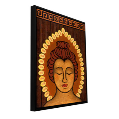 Brushstone Radient Peace Gallery Wrapped Floater-Framed Canvas Wall Art
