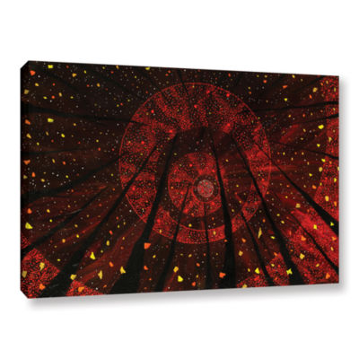 Brushstone Red October Gallery Wrapped Canvas WallArt