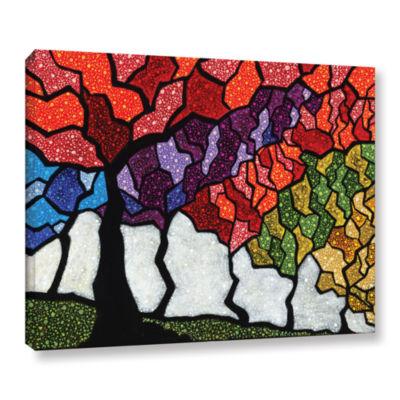 Brushstone Romance Dawn Gallery Wrapped Canvas Wall Art