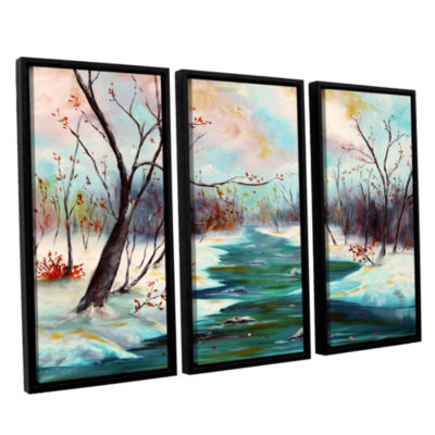 Brushstone Reflections Of Worship 3-pc. Floater Framed Canvas Wall Art