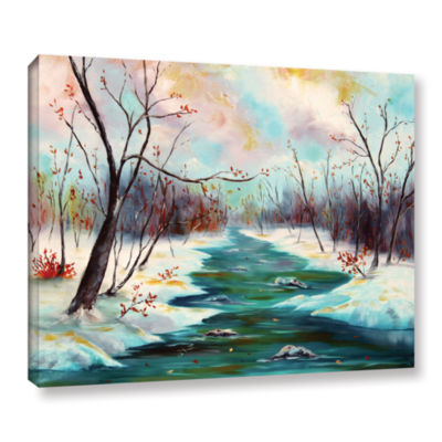 Brushstone Reflections Of Worship Gallery WrappedCanvas Wall Art