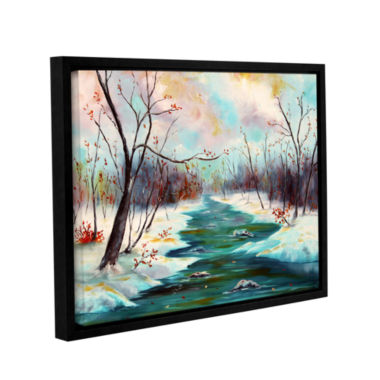 Brushstone Reflections Of Worship Gallery WrappedFloater-Framed Canvas Wall Art
