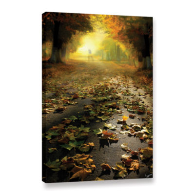 Brushstone Promenade Gallery Wrapped Canvas Wall Art
