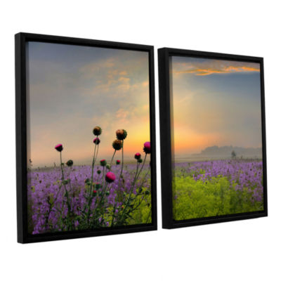 Brushstone Quiet Evening 2-pc. Floater Framed Canvas Wall Art