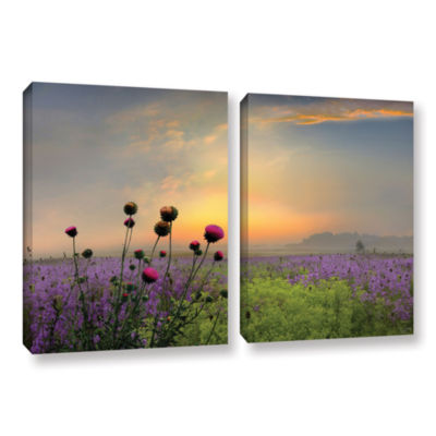 Brushstone Quiet Evening 2-pc. Gallery Wrapped Canvas Wall Art