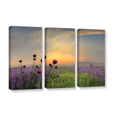 Brushstone Quiet Evening 3-pc. Gallery Wrapped Canvas Wall Art