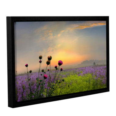 Brushstone Quiet Evening Gallery Wrapped Floater-Framed Canvas Wall Art
