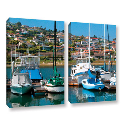 Brushstone Point Loma  Sd 2-pc. Gallery Wrapped Canvas Wall Art