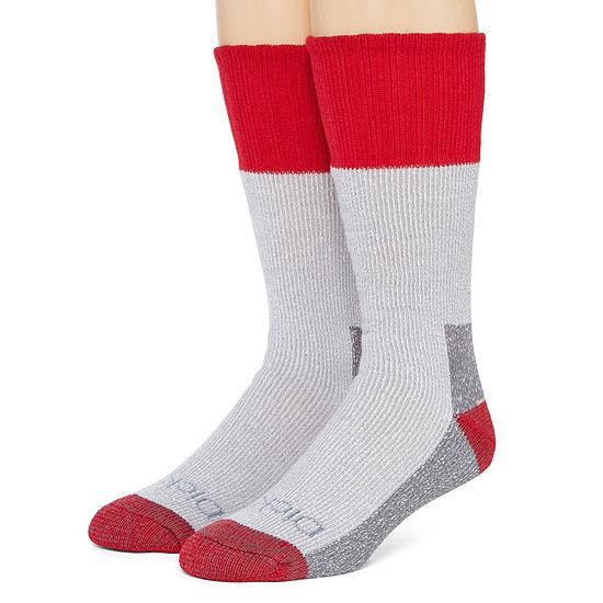 Dickies® Mens 2-Pk. Thermal Acrylic Boot Crew Socks