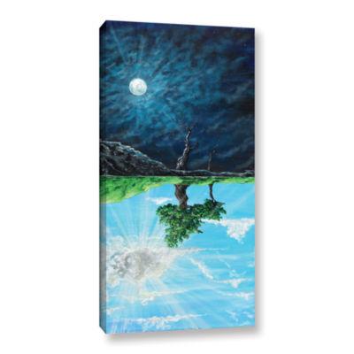Brushstone When We Were Beautiful Gallery WrappedCanvas Wall Art