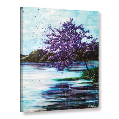 Brushstone Whispers Of Wishes Gallery Wrapped Canvas Wall Art