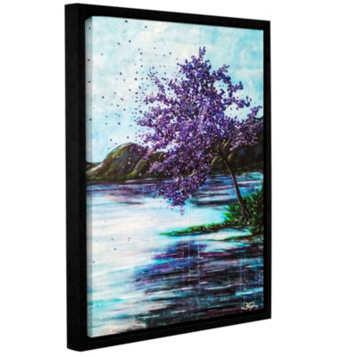 Brushstone Whispers Of Wishes Gallery Wrapped Floater-Framed Canvas Wall Art