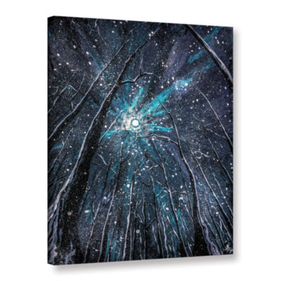 Brushstone Winter's Embrace Gallery Wrapped CanvasWall Art