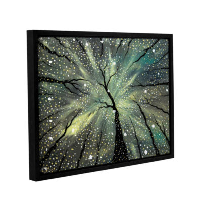 Brushstone Winter's Spell Gallery Wrapped Floater-Framed Canvas Wall Art