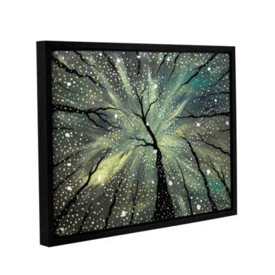Brushstone Winter's Spell Gallery Wrapped Floater-Framed Canvas Wall Art