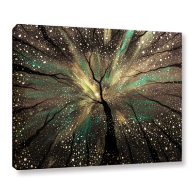 Brushstone Winter's Trance Gallery Wrapped CanvasWall Art
