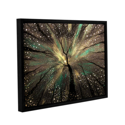 Brushstone Winter's Trance Gallery Wrapped Floater-Framed Canvas Wall Art