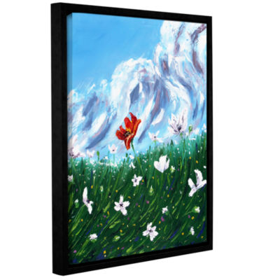 Brushstone What My Soul Knows Gallery Wrapped Floater-Framed Canvas Wall Art