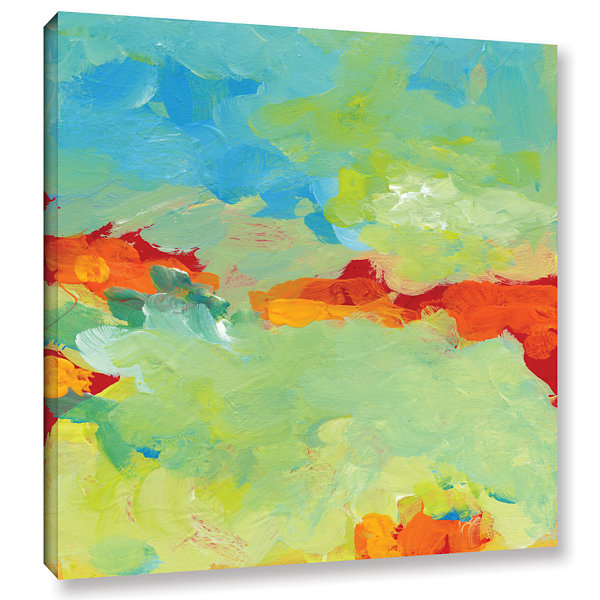 Brushstone When Landscapes Dream Gallery Wrapped Canvas Wall Art