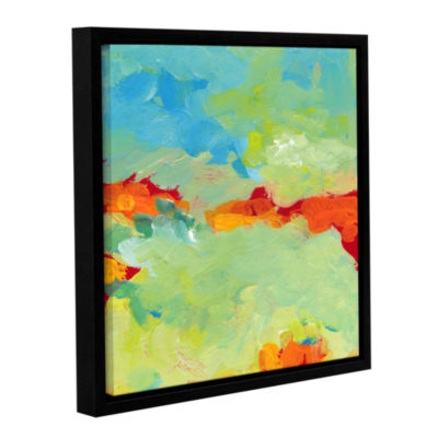 Brushstone When Landscapes Dream Gallery Wrapped Floater-Framed Canvas Wall Art