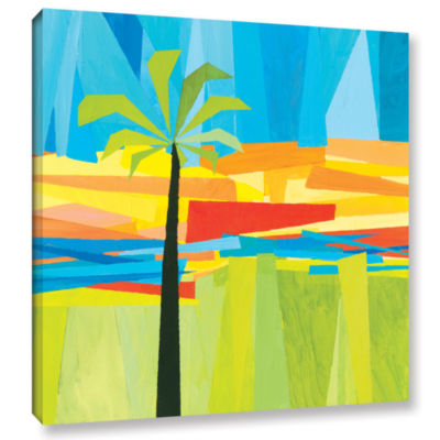 Brushstone Wonderful Palm Gallery Wrapped Canvas Wall Art