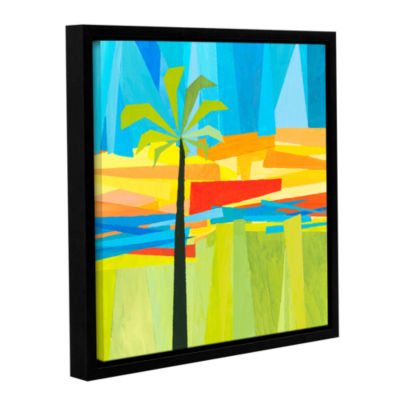 Brushstone Wonderful Palm Gallery Wrapped Floater-Framed Canvas Wall Art