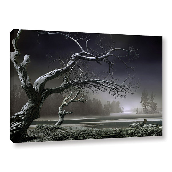 Brushstone Winter Thaw Gallery Wrapped Canvas WallArt