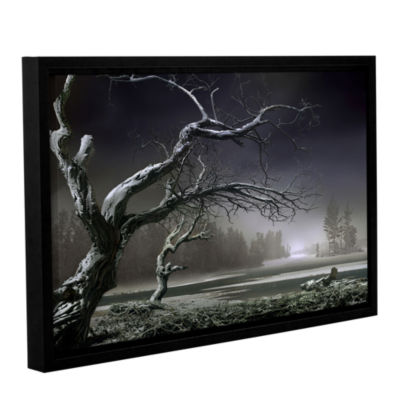 Brushstone Winter Thaw Gallery Wrapped Floater-Framed Canvas Wall Art