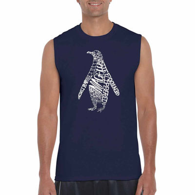 Los Angeles Pop Art Penguin Tank Top