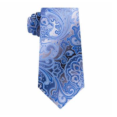 Van Heusen Vh Shaded Paisley Tie
