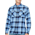 Smith Workwear Mens Long Sleeve Flannel Shirt